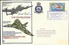 Leonard Cheshire VC 21 June 72 Toronto Canada The Dambusters Flown Vulcan B MK2 from 617 Sqn. The Da