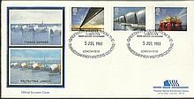 Thames Barrier exhibition centre FDC. Good condition