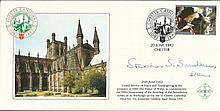 Unusual 1992 Covercraft Chester Cathedral official cover signed by The Dean of Chester. Good conditi
