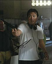 Justin Lin Director, signed colour 10 x 8 photo. Good condition