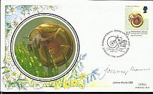 Johnny Morris signed 1998 Benham official Endangered Species FDC, single 37p value. Good condition