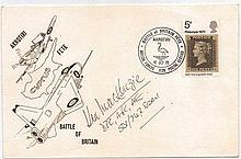 Wing Commander Kenneth Mackenzie DFC AFC 1940-1970 30th Anniversary of the Battle of Britain Cover. Good condition