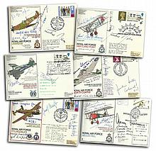 Rossbach Set aces collection. This is quite a incredible set of covers with over  270 signature of top Luftwaffe VIP's. It would be a great shame to