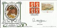 Anthony Holden signed Benham BLCS149b 50th