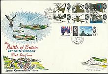 Battle of Britain 25th anniversary FDC. Fareham