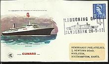 Official Cunard cover
