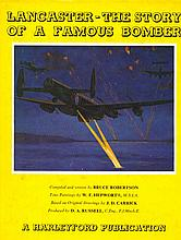 Lancaster signed book The Story of a Famous Bomber