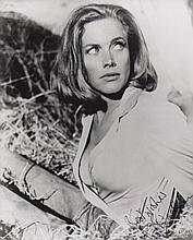 Honor Blackman James Bond Signed 10 X 8Photo. Good
