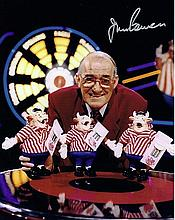 Jim Bowen Bullseye Signed 10 X 8 Photo. Good