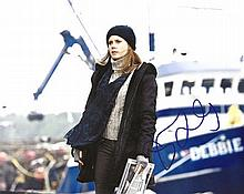 Amy Adams 10x8 signed Heathrow Airport on the 12th