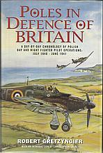 Poles in Defence of Britain hardback book by