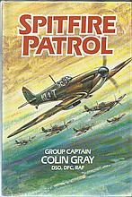 Spitfire Patrol multi signed hardback book by