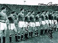 Busby Babes Albert Scanlon Harry Gregg Ken Morgans
