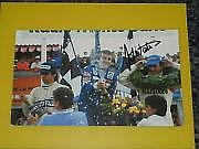 John Watson F1 Legend 9x6 Magazine Photo Signed.