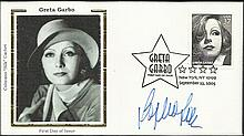 Sophia Loren signed Greta Garbo Benham Small Silk