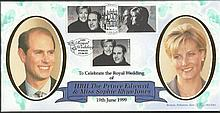 Benham BLCS161 double dated Royal Wedding FDC 15