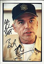 Billy Bob Thornton signed colour photo