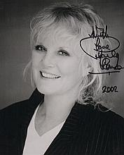 Petula Clarke Signed 10 X 8 photo. Good condition