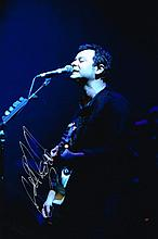 James Dean Bradfield Manic Street Preachers Signed