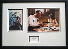 Jean Reno & Natalie Portman signed photos from