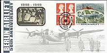 1999 Berlin Airlift, Benham BLCS156 official FDC