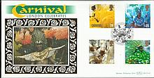 August 1998 Carnival Benham BLCS145 FDC. Good
