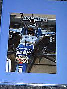 Damon Hill F1 Legend 6x9 Magazine Photo Signed.