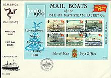 Mail Boats of the Isle of Man Steam Packet Co FDC