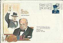 Sir Winston Churchill FDC 1974