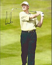 Ernie Els signed colour 10x8 photo of the golfer