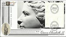 Profile on Print HM Queen Elizabeth II BLCS152 FDC