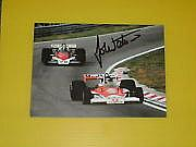 John Watson F1 Legend 5x6 Magazine Photo Signed.
