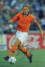 Frank De Boer Signed Holland 12 X 8 football
