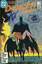 DC Bob Kane & Adam West Batman comic autographed