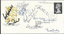 Man United Multi-signed Scarce 1984 Royal Mail
