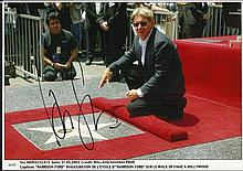Harrison Ford signed colour 12x8 photo