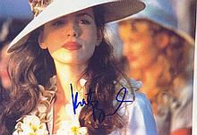 Kate Beckinsale signed 12 x 8 colour photo