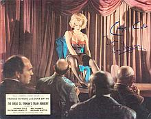 George Cole signed A3 Lobby Card picture from The