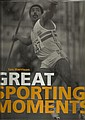 Great Sporting Moments hardback book signed top