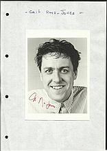 Griff Rhys Jones signed 6 x 4 b/w portrait photo,
