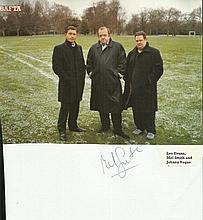 Mel Smith signed colour photo.  Good condition.