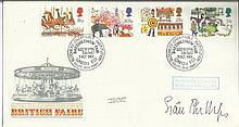 Sian Phillips signed 1983 British Fairs FDC with