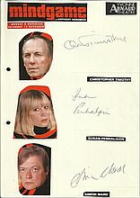 Cast of Mindgame, Christopher Timothy, Susan
