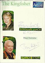 Cast of The Kingfisher Rosemary Leach, Peter
