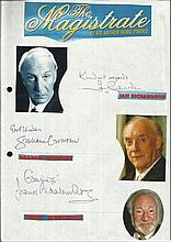 Cast of The Magistrate, Ian Richardson, Graham