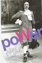 Robert Lindsay signed photo.  Good condition.