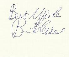 Brian Blessed signed large autograph on 6x4 card.