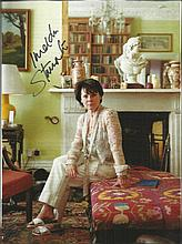 Imelda Staunton signed magazine photo. Good