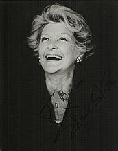 Elaine Stritch signed 10x8 b/w photo. Dedicated to