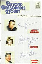 Cast of Beyond Reasonable Doubt, Leslie Grantham,